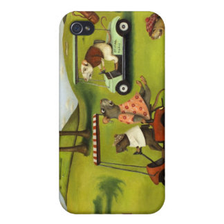 Rat Race 2 At The Golf Course iPhone 4 Cases