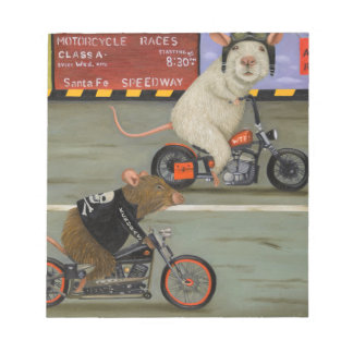 Rat Race 3 Motorcycle Race Notepad