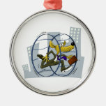 rat race christmas tree ornament