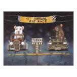 Rat Race Customized Letterhead