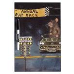 Rat Race Dry Erase Whiteboard