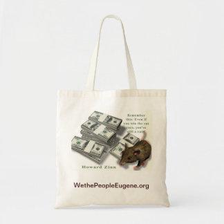 Rat Race, Howard Zinn Tote Bag