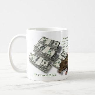 Rat Race, Howard Zinn Coffee Mug