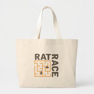 Rat Race Large Tote Bag