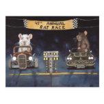 Rat Race Postcard