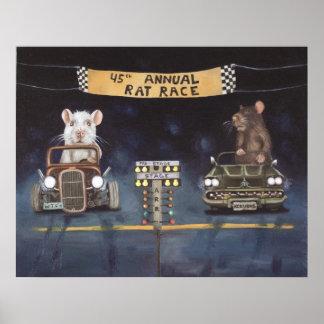 Rat Race Print