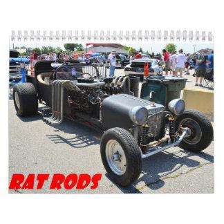 Rat Rod 2015 Calander Wall Calendar