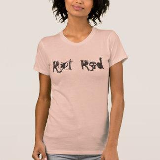 Rat Rod Automotive Car Retro Style Tee Shirt top