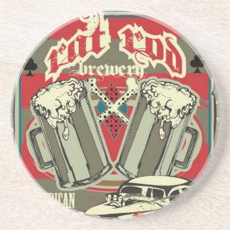 Rat Rod Brewery Coaster