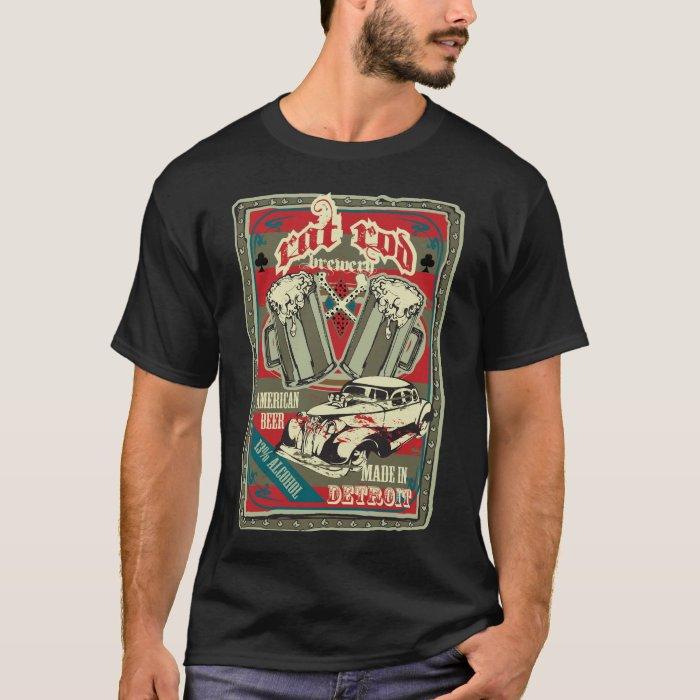 Rat Rod Brewery T Shirt