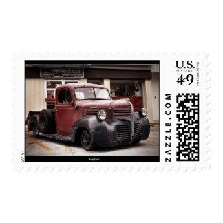 RAT ROD DODGE post stamp