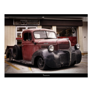 """RAT ROD"" DODGE Postcard"