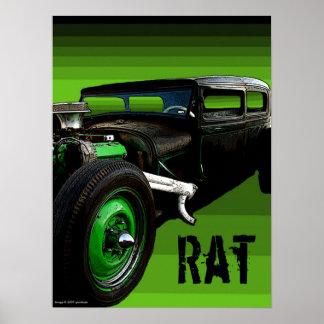 Rat Rod Poster