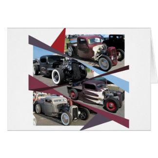 Rat Rod Trucks Card