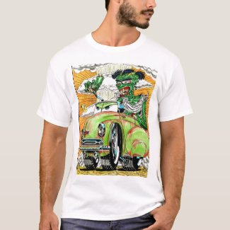 Rat Rod Zombie T-Shirt