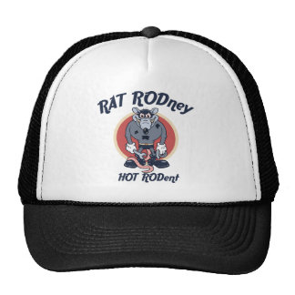 Rat Rodney Trucker Hats