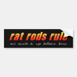 Rat Rods Billett Boy bumper sticker