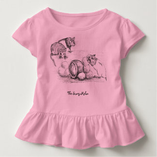 rat scary melon story toddler t-shirt