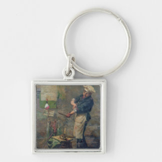 Rat Seller during the Siege of Paris, 1870 Keychain