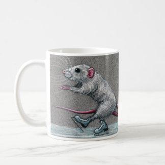 Rat Skating Coffee Mug