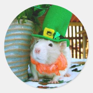 Rat St. Paddy's Day Sticker
