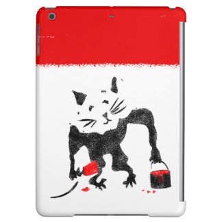 Rat Stencil Street Art iPad Air Cover