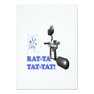 Rat Ta Tat Tat Card