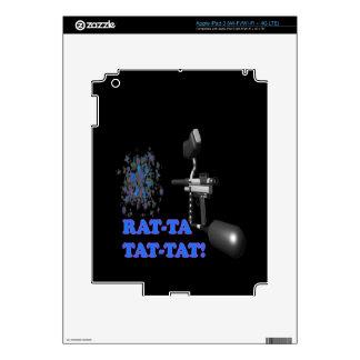 Rat Ta Tat Tat Decal For iPad 3