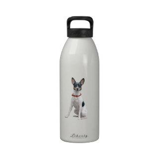 Rat Terrier (A) Drinking Bottles