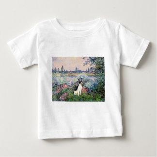 Rat Terrier - By the Seine Baby T-Shirt