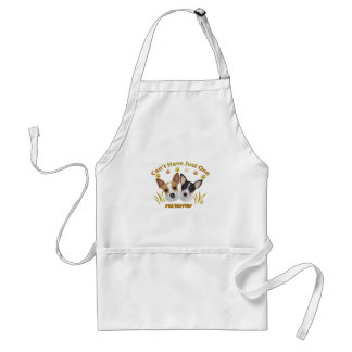 Rat Terrier Can't Have Just One Adult Apron