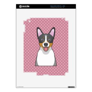 Rat Terrier Cartoon Decal For iPad 2