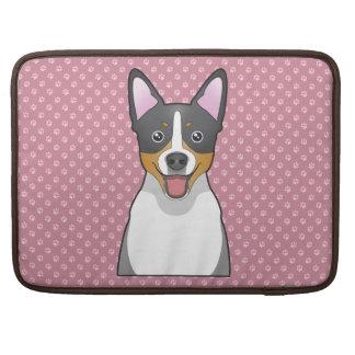 Rat Terrier Cartoon Sleeve For MacBook Pro