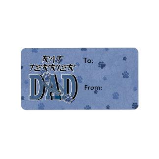Rat Terrier DAD Label