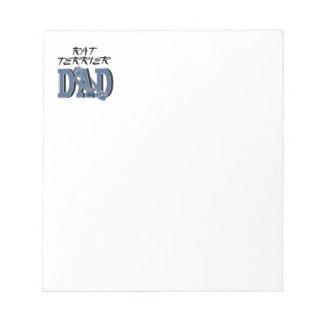 Rat Terrier DAD Memo Note Pads