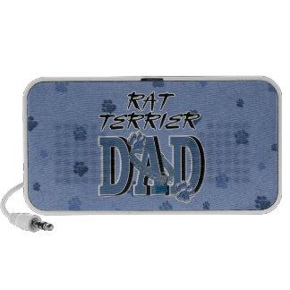 Rat Terrier DAD Notebook Speaker