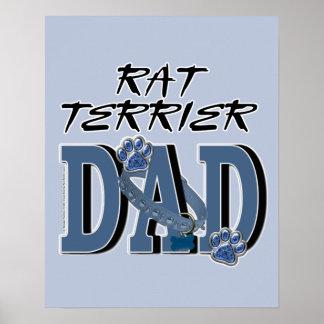 Rat Terrier DAD Posters