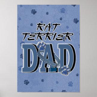 Rat Terrier DAD Print
