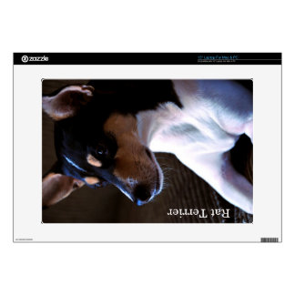 Rat Terrier Decal For Laptop