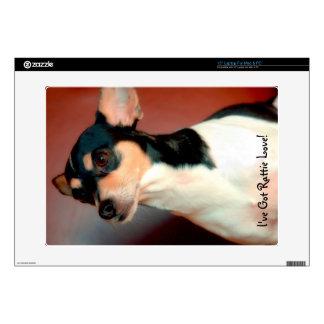 Rat Terrier Decals For Laptops