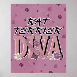 Rat Terrier DIVA Posters