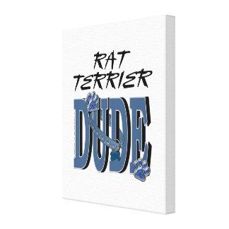 Rat Terrier DUDE Canvas Print
