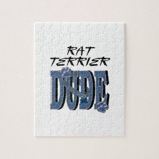 Rat Terrier DUDE Puzzle