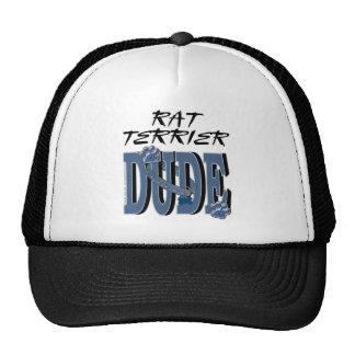 Rat Terrier DUDE Trucker Hat