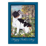 Rat Terrier Father's Day Card