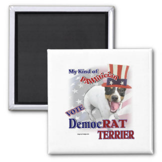 RAT TERRIER Gifts 2 Inch Square Magnet