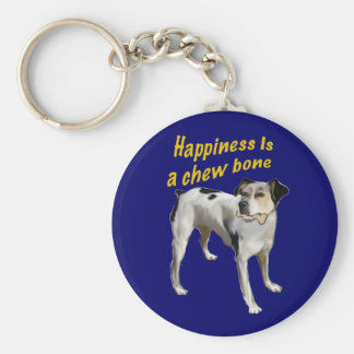 rat terrier happiness keychains