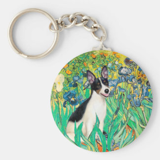 Rat Terrier - Irises Keychains