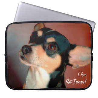 Rat Terrier Laptop Sleeve