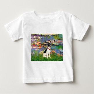 Rat Terrier - Lilies 2 Baby T-Shirt